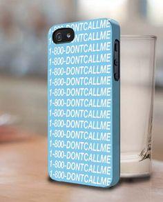 1-800-dontcallme 3D Design Cases iPhone, iPod, Samsung Galaxy, Fits for Apple iPhone & iPod, Samsung Galaxy, HTC One, and Nexus smartphones.