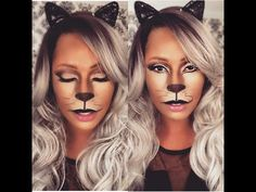 Sexy Cat Halloween Makeup I Fabulous Fashionista - YouTube Help me grow my channel and  Dont forget to subscribe!!!!