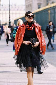 Paris Fashion Week AW 2015....Giovanna