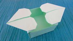 Origami : Boîte Double cœur