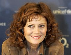 Susan Sarandon , my favorite actress.