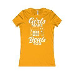 Girls Make Beats Too T-shirt