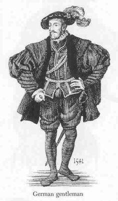 1541 German gentleman.
