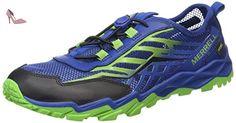 Merrell - Ml - B Hydro Run - Chaussure de course compétition - Multicolore (Blue/Green/Black) - 30 EU - Chaussures merrell (*Partner-Link)