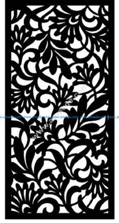 Decorative Metal Screen, Laser Cut Screens, Cnc Cutting Design, Door Gate Design, Powerpoint Background Design, Laser Cut Patterns, Motif Floral, Stencil Designs, Metal Wall Art