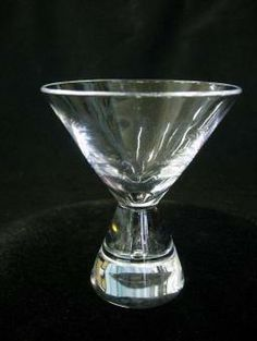 Vintage Steuben Glass Teardrop Cocktail