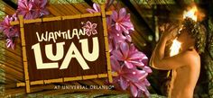 Royal Pacific Resort Luau at Universal Orlando... at our hotel??? Yes please!