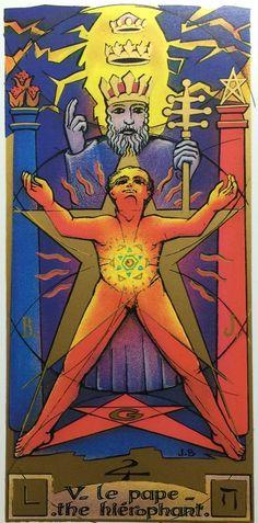 Heirophant - Masonic Tarot