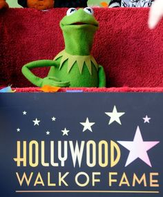 kermit the frog hollywood walk of fame - Google Search