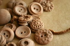 Chocolate Candy Vintage Buttons 50 by andiespecialtysweets on Etsy, $37.50