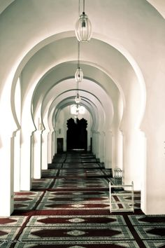 #Fez #Morocco #Journey Al-Qarawiyyin (Al-Karaouine) University, Fez, Morocco. Possibly the oldest university in the world. Photo Airzouh Photography.
