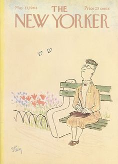William Steig : Cover art for The New Yorker 2049 - 23 May 1964