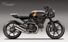 Ducati Scrambler concepts by Gannet Design