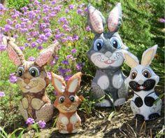 4 Bunny generations in 1 set!