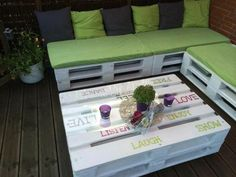 Euro pallet wood pallet furniture coffee table sofa balcony furniture