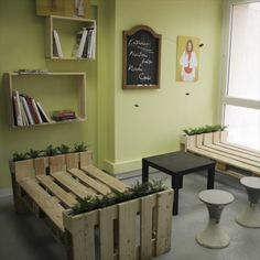 Office Use Pallet Furniture