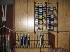 Punch storage idea by hmlopez - Cards and Paper Crafts at Splitcoaststampers