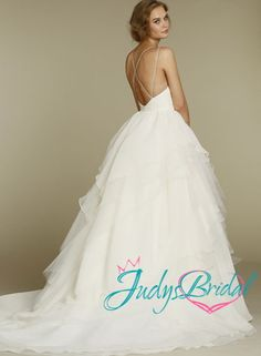 backless ball gown wedding dress - Google Search