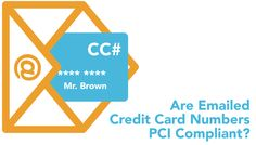 Is it safe to email credit card information?