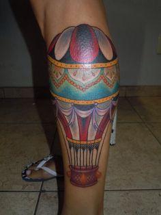 Balão old school tattoo , by Anderson foguinho