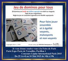 Concours Lépine International Paris 2015 Du 29 Avril au 10 Mai 2015 de 10h à 19h Je serais heureuse de vous rencontrer sur mon stand. A bientôt Michele