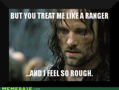 Aragorn is just somebody i used to know