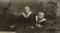 Princes Oleg Konstantinovich and Igor Konstantinovich Romanov.