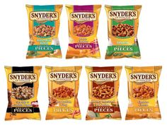We Try Every Flavor of Snyder's Flavored Pretzel Pieces