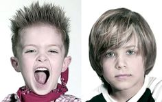 Kids Hairstyles - Little Boys Haircuts - Kids hairstyles ideas - Check out some cute little boys haircuts pictures/photos and get inspired for your little man's new hairstyle. Cute Little Boy Haircuts, Little Boy Hairstyles, Boys Long Hairstyles, Cute Little Boys, Funky Hairstyles, Cute Kids, Loose Braid Hairstyles, Childrens Haircuts, Textured Haircut