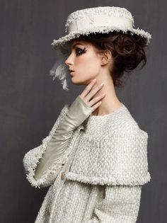 Chanel Fashion | ... Shoots Marte Mei Van Haaster in Chanel Haute Couture Spring 2013