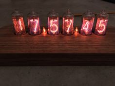I made a nixie clock! (#QuickCrafter)