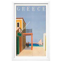 Greece Travel Poster $199.00