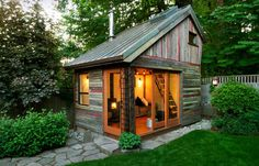 Rustic guest house...
