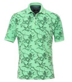 Polo-Shirt mit modischem Druck
