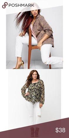 🎄Lane Bryant Genius Fit Boyfriend Jeans🎄 Lane Bryant Genius Fit Destructed Boyfriend jeans are fabulously stylish, flattering, and comfortable. Hot buy!!! 🎄🎄🎄 Lane Bryant Jeans Boyfriend