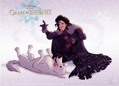 Jon Snow sait faire quelque chose ! - Game of Thrones à la sauce Disney ! (8 images)