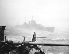 1941 Off Iceland 133 mph winds sank 5 US sea-based aircraft. More #navalhistory