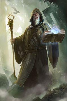 Old Nature Summoner Magician