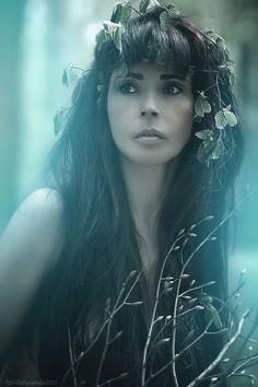 Mystisch von Photomoods she is the goddess of nature