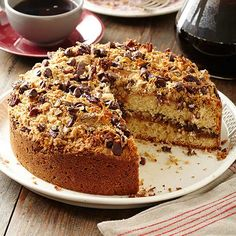 Chocolate Pecan Coffee Cake: We put together our favorite coffee cake ingredients for this recipe: chocolate, butter, sour cream, pecans and coconut. It's worth the indulgence!
