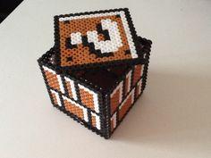 Mario cube made with hama beads