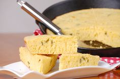 Spice it up with this Spanish Jalapeño Cornbread recipe.