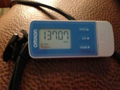 #OmronPedometer 10k daily steps challenge