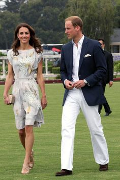 Kate Middleton Photos Photos - Queen Elizabeth has reportedly invited Catherine, Duchess of Cambridge, to spend some time with her at Balmoral during her annual summer holiday. .Ptcture shows:  Prince William and Catherine arrive at Santa Barbara Polo & Racquet Club . - File Photos of the British Royal Family