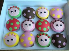 Tombliboos cupcakes