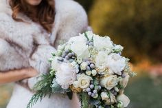 Wedding Flowers |  | Glamorous Winter Wedding | The Jon Hartman Photography Co | Bridal Musings Wedding Blog