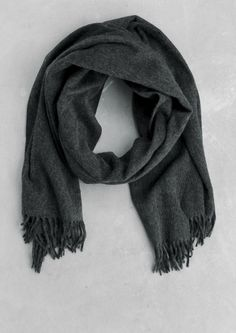 For someone who needs it. Wool-blend scarf | Wool-blend scarf | & Other Stories