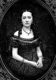 Woman in Dress 1840s-1850