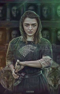 Arya Stark from Game of Thrones high quality art print) Related Post New Grisly & Beautiful Game of Thrones Season. Game of Thrones Arya Stark game of thrones aesthetic Dessin Game Of Thrones, Arte Game Of Thrones, Game Of Thrones Artwork, Game Of Thrones Poster, Game Of Thrones Arya, Game Of Thrones Drawings, Maisie Williams, Winter Is Here, Winter Is Coming