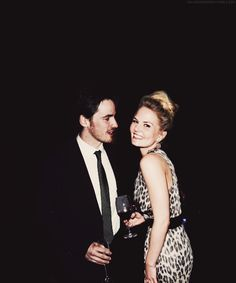 Jennifer and Colin from Once Upon a Time. This is why they should be together in real life and on the show